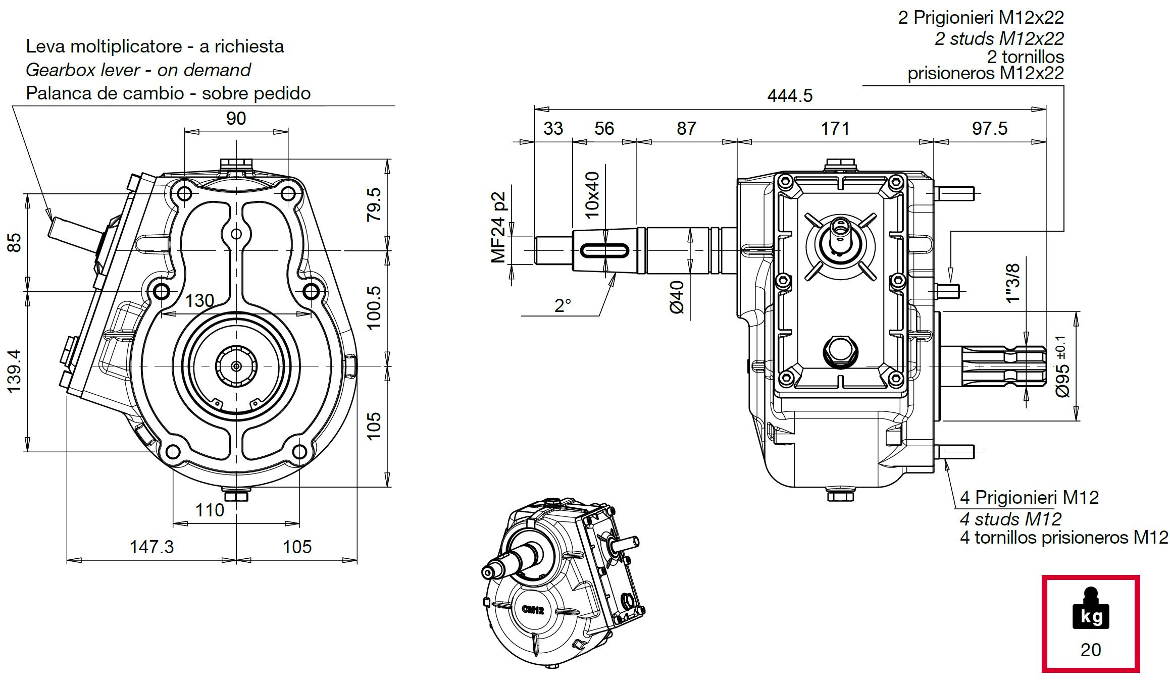 CM12 disegno