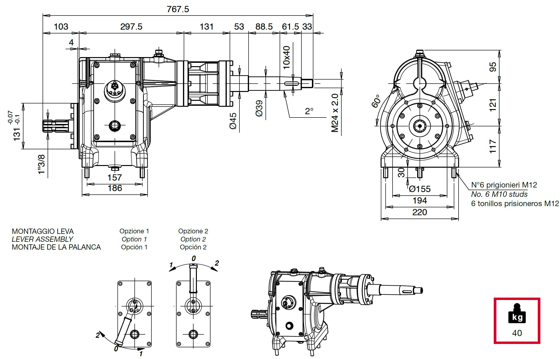 CM15 disegno
