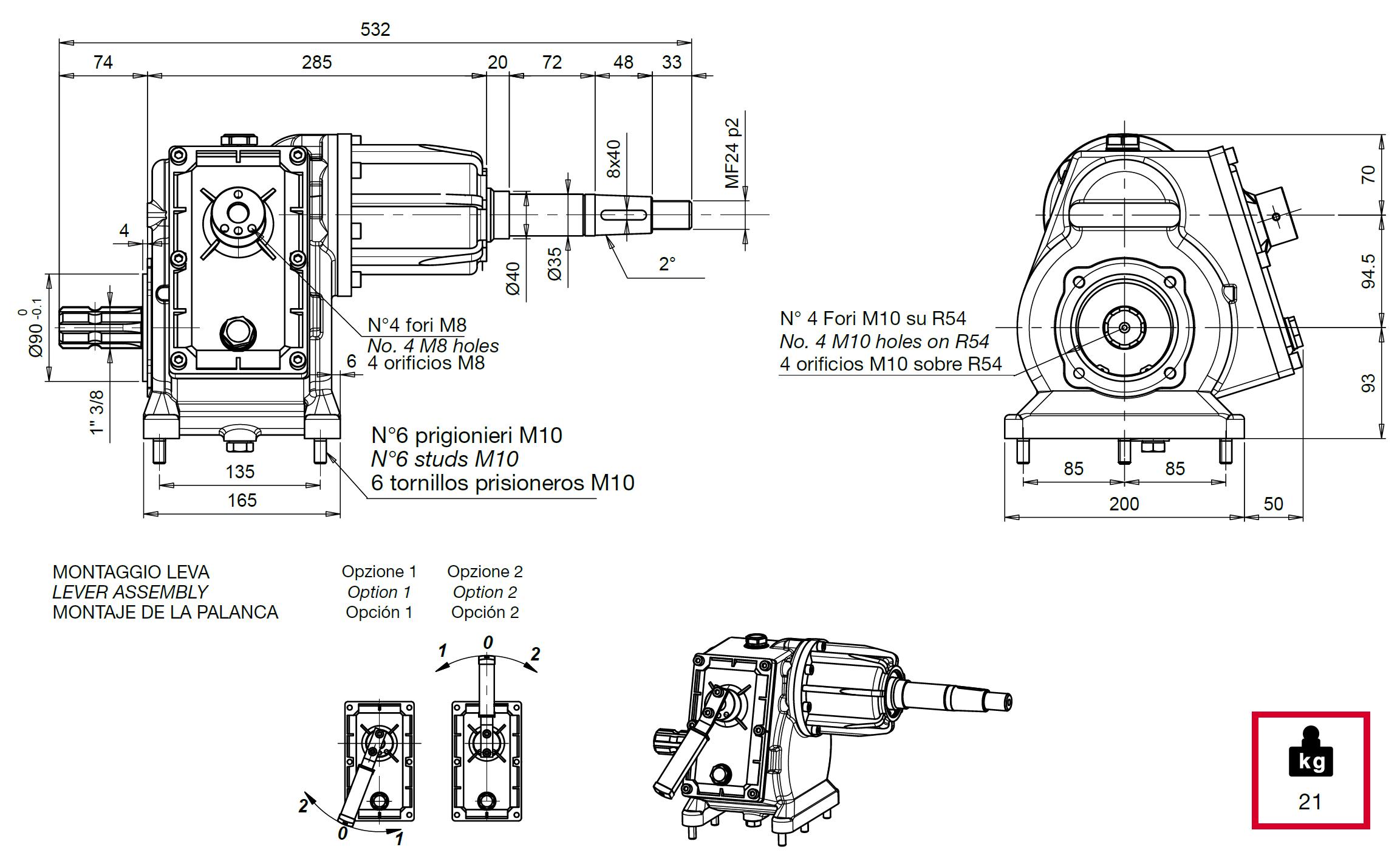 CM9 P disegno
